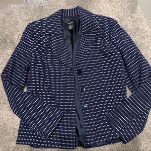 Rafaella navy & white blazer